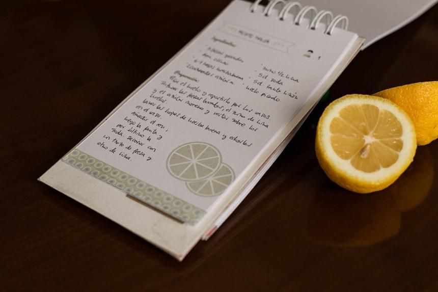 Diseño editorial - Libro de recetas
