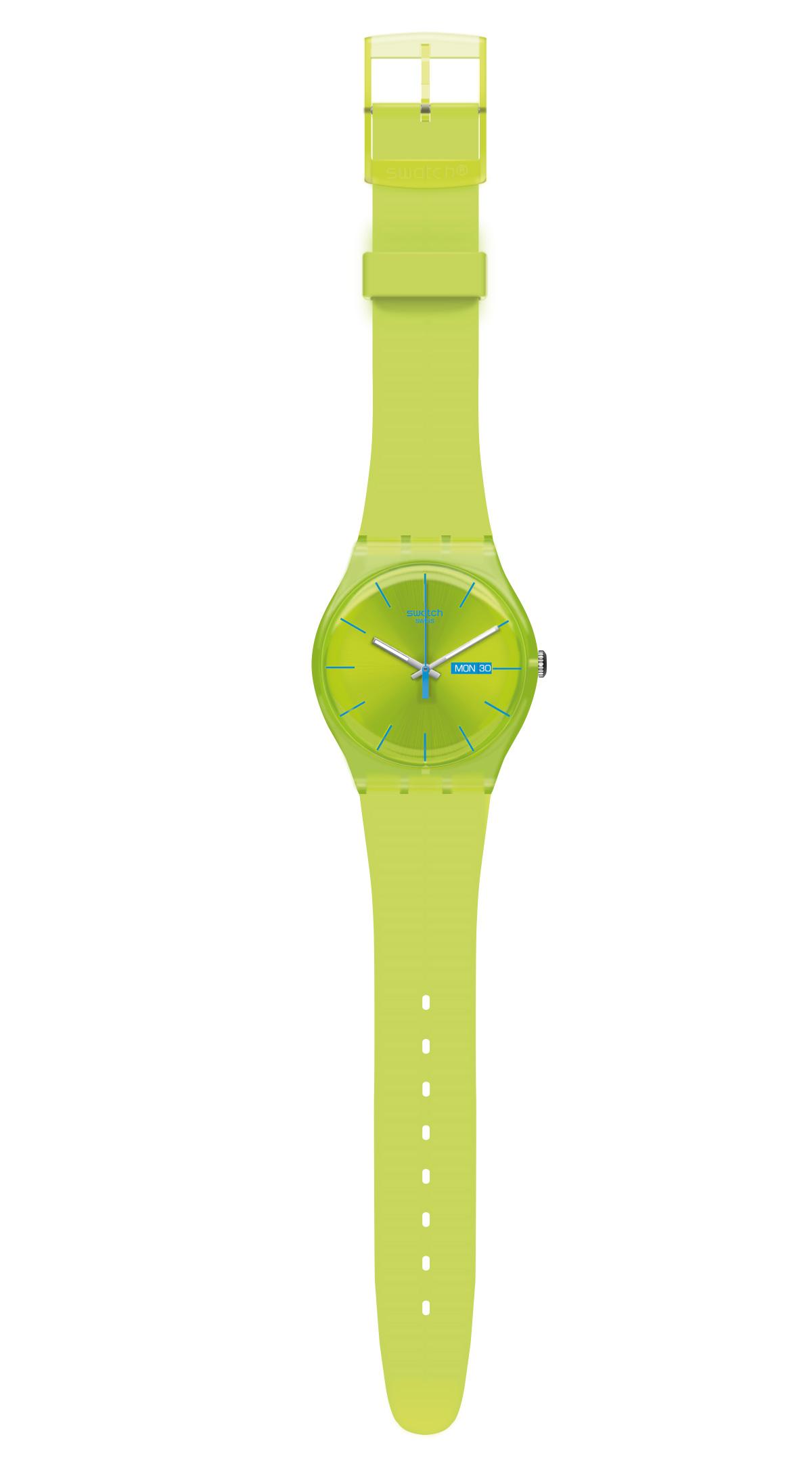 Ilustración hiperrealista - Reloj Swatch